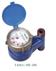 Multi-jet Vertical iron water meter