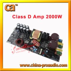 New Audio High Power Class D Power Amplifier Module CD-2000
