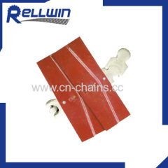 Plastic modular multiflex table top conveyor chain for transportation