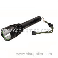 CGC-Y62 promotion price tactical disign aluminium alloy Rechargeable CREE LED Flashlight