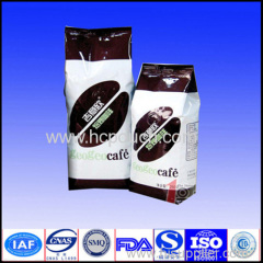 recycle vacuum foil coffee package with valve