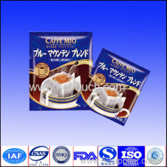 high quality printed coffee package