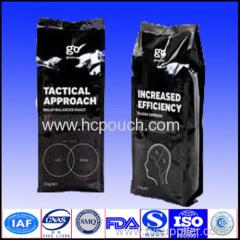 laminated coffee bag s