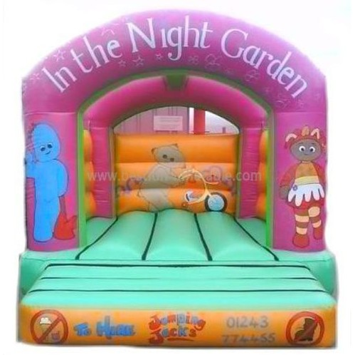 The Night Garden Inflatables House Bouncer for kids