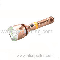 CGC-Y1 Factory wholesale customized high quality cheap Rechargeable CREE LED Flashlight