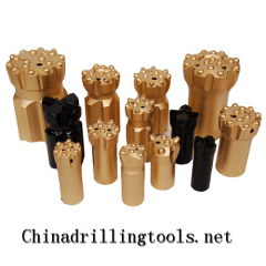 Thread Button Bit for Drilling