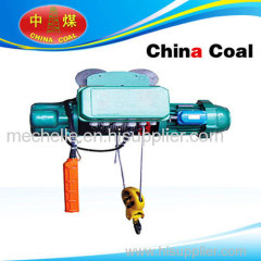 MD1 series wire rope electric hoist