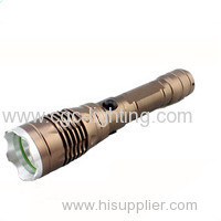 CGC-328 High quality waterproof Rechargeable CREE xml LED Flashlight
