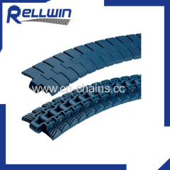 Slat top modular plastic conveyor chain 4014 for machinery with food grade material
