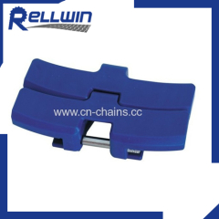 Slat top sideflex Flat Top chainbelt(50mm pitch) for machinery