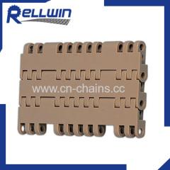 Conveyor Belt Flat top 7705 modular belt with POM material