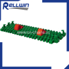 Modular Belt IS615 Radius Flush Grid With Pop-up Flights IS615 Radius Flush Grid With Pop-up Flights modular belts