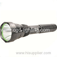 CGC-Y25Military aluminium high power and factory price Rechargeable CREE LED Flashlight