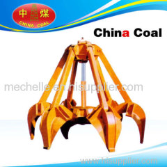 Grab bucket china coal