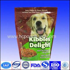 stand up dog food bag