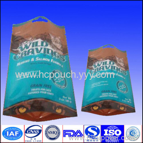 stand up bag for food packaging