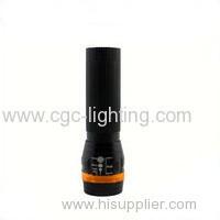 CGC-107-1 OEM promotion price aluminium portable Rechargeable CREE LED Flashlight