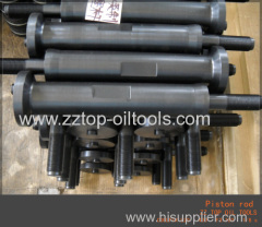 API F1600 mud pump parts Piston rod