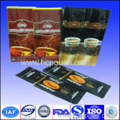 foil laminated coffee package