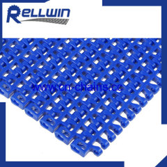 Flush Grid modular plastic belt Flush Grid 1100 open area 28%