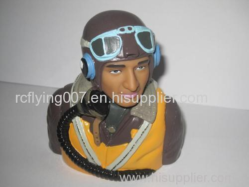 1 6 Scale Wwii Rc Plane British Action Figure Pilot Painted Rcf