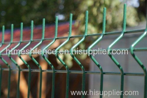 ПВХ / порошковым покрытием сварные сетки панели забора