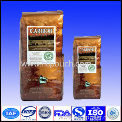 quality plastic coffee pouches