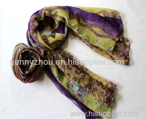 100% viscose scarf for 2014