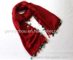 Polyester scarf for this Spring