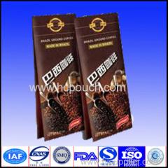 side gusset coffee package bags