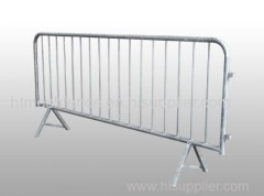 Hot Dipped Galvanized Crowd Control Steel Barricades