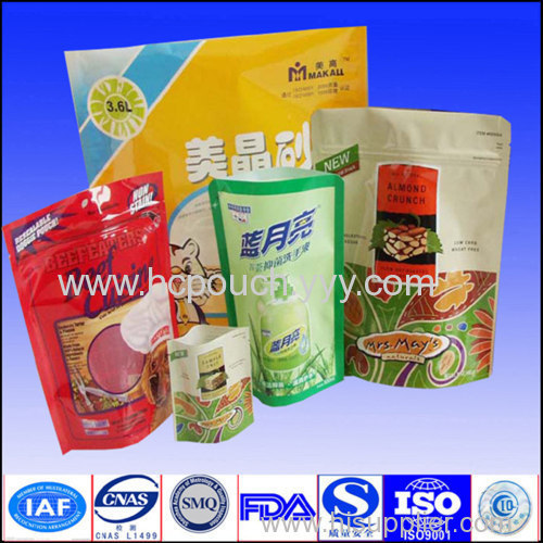self stand up nonwoven pouch