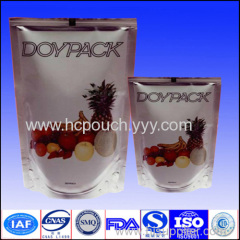 liquid stand up pouch