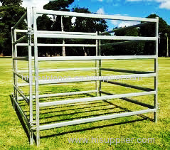 square tube corral horse panel