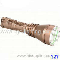 CGC-Y27 Durable fashionable 18650battery powerful Rechargeable CREE LED Flashlight