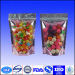 stand up food packaging bags with zipper