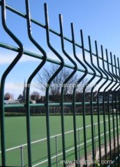 powder coated euro garden fence panel welded fence panel