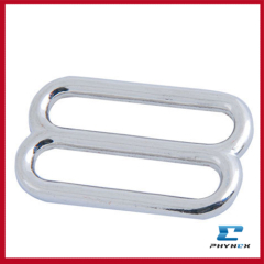 Bulk metal slider buckle