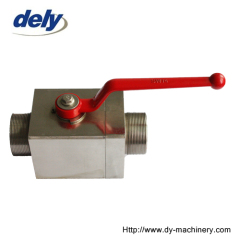 QJZ ball stop valve square type female thread