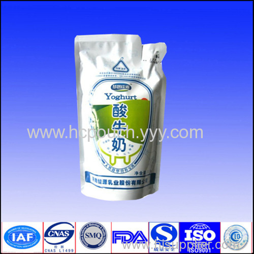 stand up milk powder bags