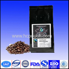 coffee bean package bags with valve