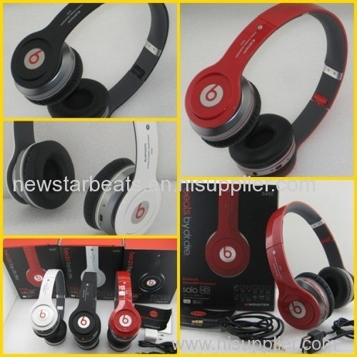 Wireless Solo S450 In Black White Red Bluetooth Beats Hd By Dr