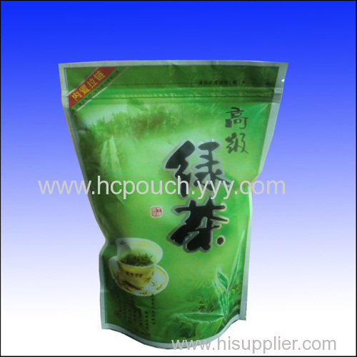 stand up pouch bags for tea