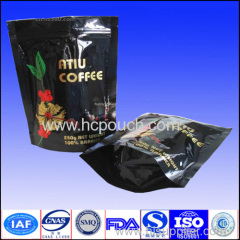 stand up pouch coffee package