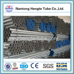 steel pipe hot dip galvanized steel tube