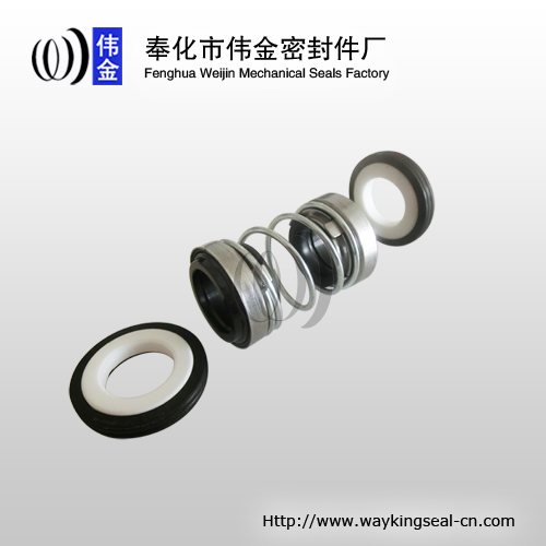 double elastomer bellow shaft mechanical seals