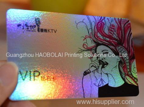 Laser material PVC card