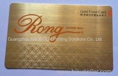 silk-screen print wire drawing plastic card