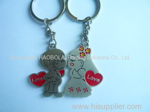 promo gift the couple keychain