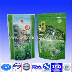 stand up green tea bags